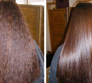argan oil hair results