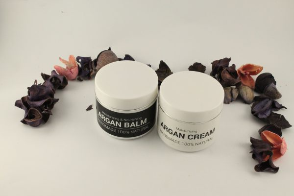 argan balm and cream