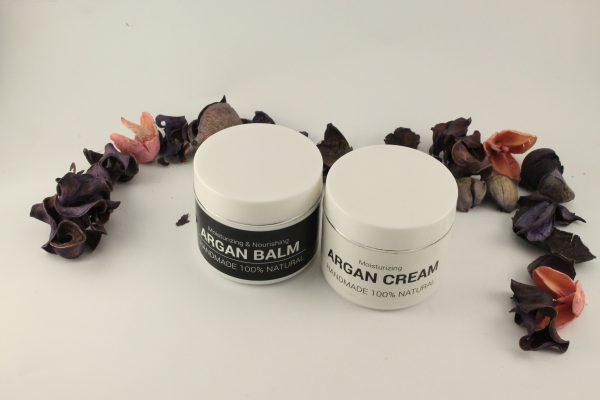 argan balm and cream