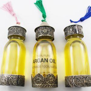pure argan oil bottle